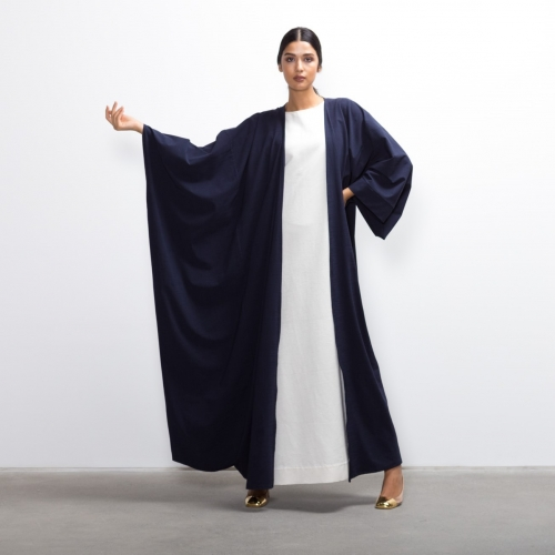 Hybrid Abaya in Cool Blue