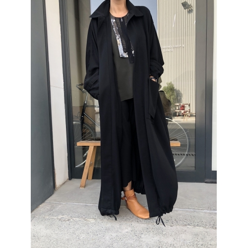 New Trench Abaya