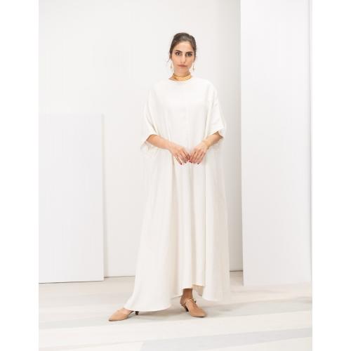White Linen Kaftan