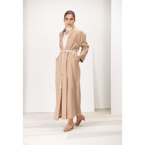 Convertible in Brown Linen