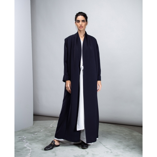 Convertible Abaya Dark Blue