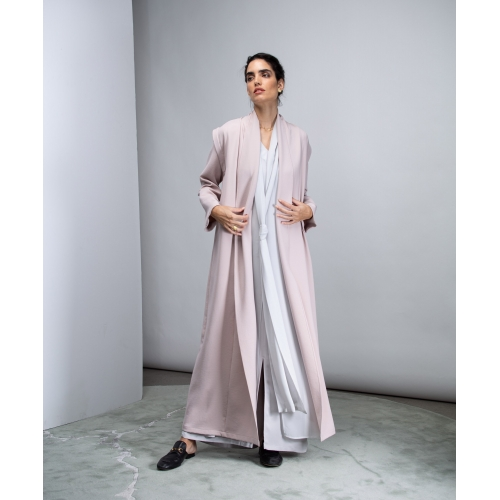 Convertible Abaya in Pink