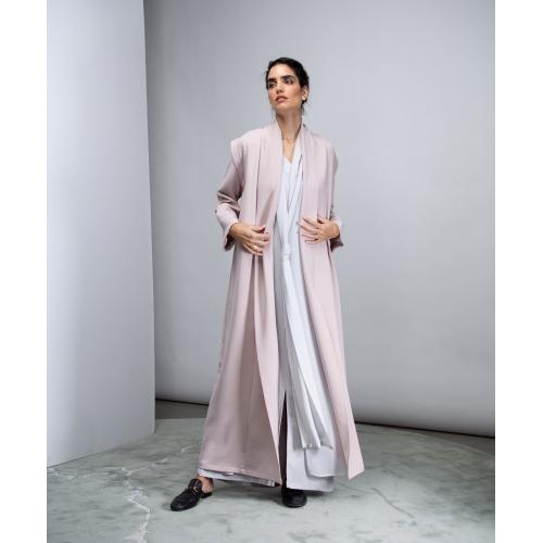 Convertible Abaya in Pink