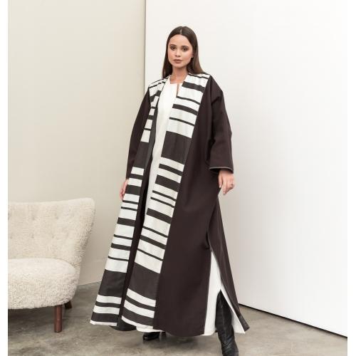 Hazel Stripe Abaya
