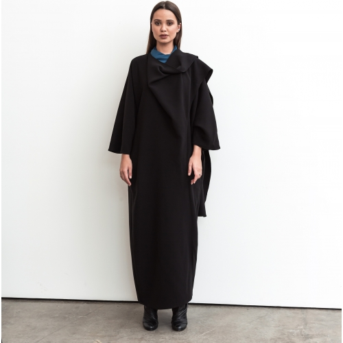 Wrap Abaya in Black