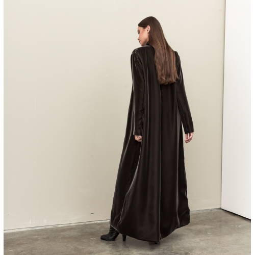 Cedar Velvet  Abaya