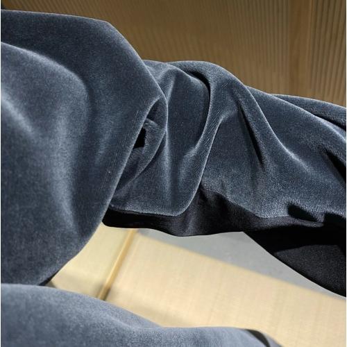 Grey Velvet Abaya