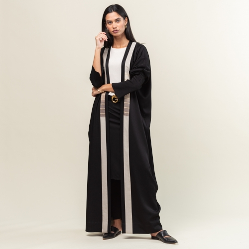 Earth Stripe Abaya
