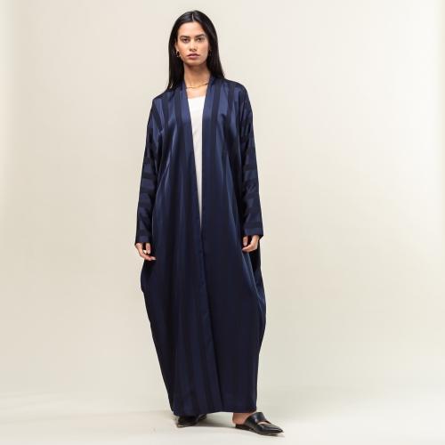 Blue Stripe Abaya