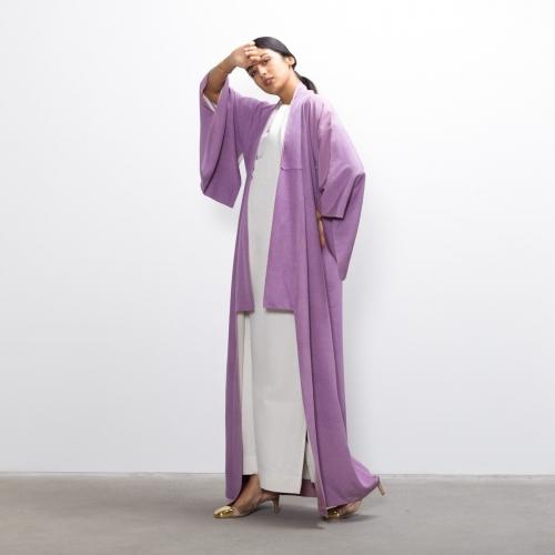 Lilac Silk Kimono