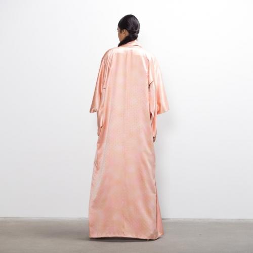 Pale Rose Pearl Silk Kimono